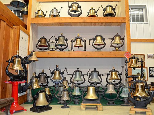 Brosamers Bells Railroad locomotive steam engine bells