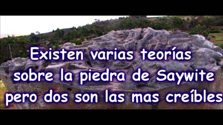 vean mi video sobre LA PIEDRA DE SAYWITE, una joya arqueológica del Perú. Quiza no conocida por mucha gente en el extranjero y en el mismo Perú.