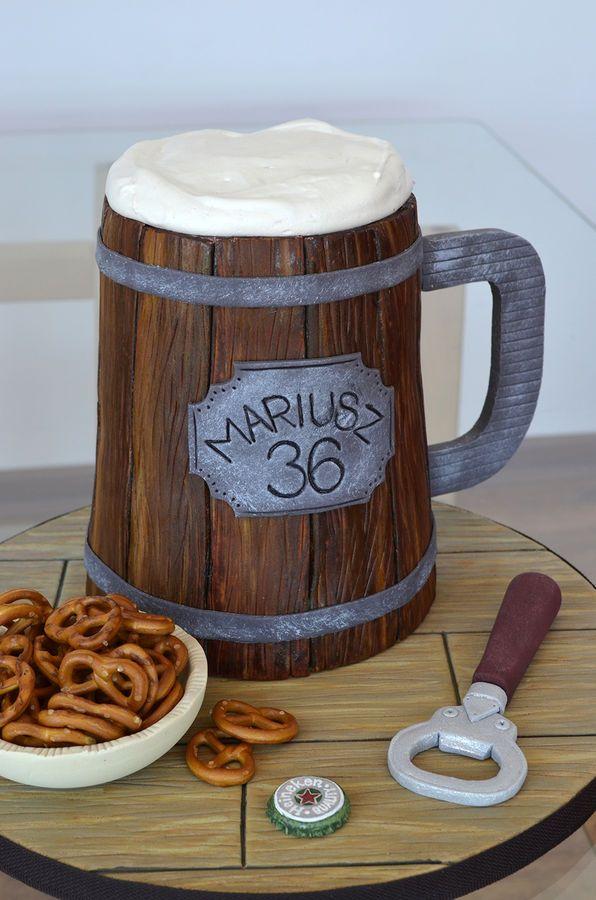 beer mug cake #provestra