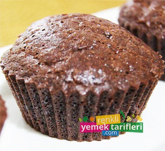Kakaolu Muffin Tarifi Kakaolu Muffin Tarifi,kakaolu muffin nasıl yapılır,kakaolu muffin yapılışı,kek tarifleri,chocolate muffin,Schokoladen-Muffins,шоколадный кекс http://www.renkliyemektarifleri.com/kakaolu-muffin