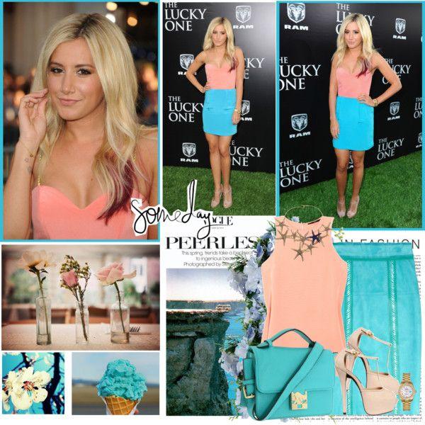 Ashley tisdale style polyvore dresses