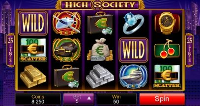 It's the VERY LAST DAY for earning some EXTRA Loyalty Points with Lucky Loyalty Time. Remember you Loyalty Points can be redeemed for Casino Credits!!  Why not give the new luxurious High Society slot a spin?