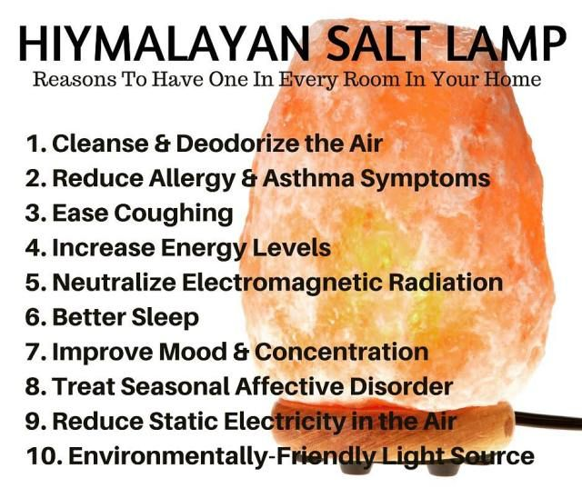 10 Amazing Himalayan Salt Lamp Benefits Coconut Health Benefits