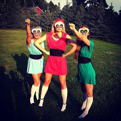 powder puff girls.