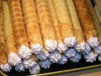 Быстрые вафельные трубочки на сковороде   Готовим дома с Фифисой