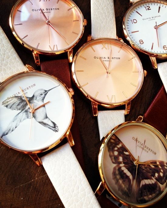 Olivia Burton watches are so gorgeous. I received one as a gift for my birthday a few weeks ago and I just want them all now.