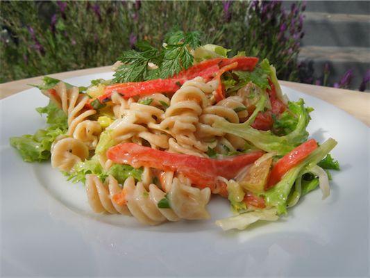 Whole Grain Fusilli Pasta Salad with Aioli: Pasta Salad, Grains, Food, Potatoes, Grain Fusilli, Fusilli Pasta