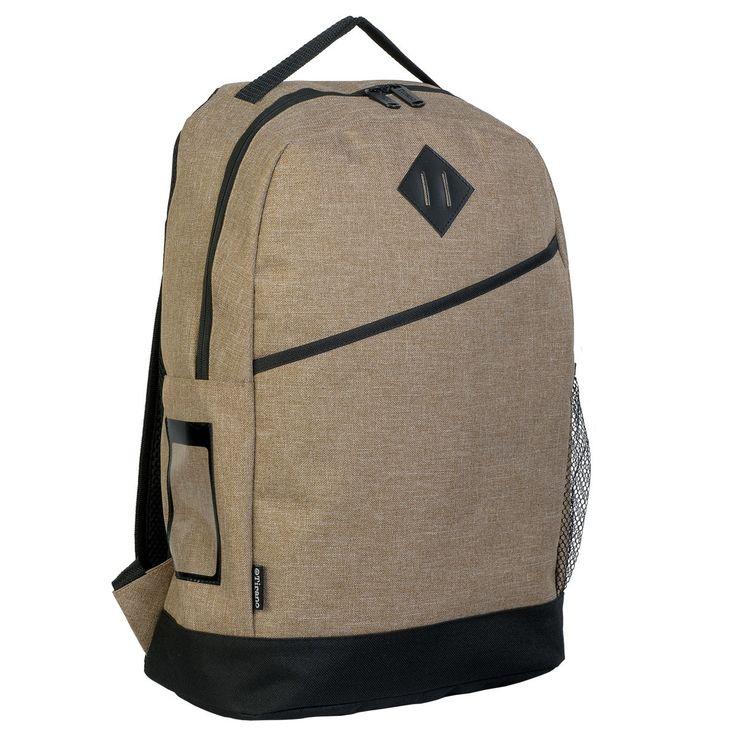 TIRANO plain canvas-like backpack, $19.00 (https://www.blankclothing.com.au/tirano-plain-canvas-like-backpack/)
