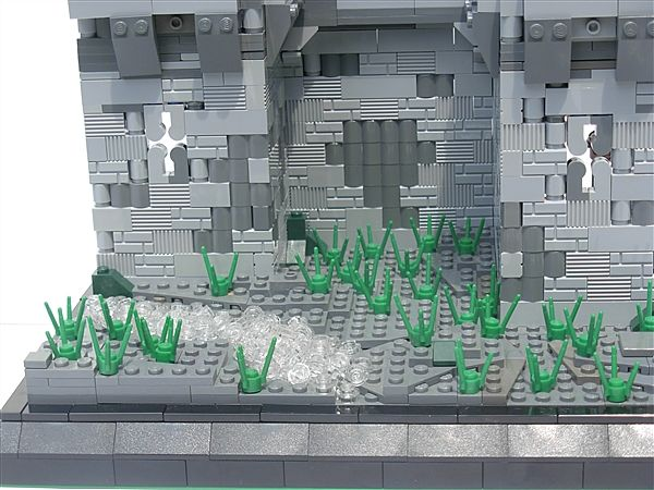 LEGO Castle walls- Nice and weathered looking | A Lego a DayA Lego a Day - #LEGO LEGO Lego