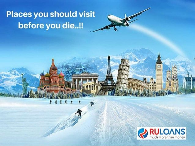Still postponing your dream vacation? Get #PersonalLoan @11.49%* - #Ruloans. For more details visit - https://www.ruloans.com/personal-loan/new-personal-loan