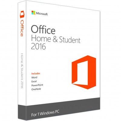 Microsoft Office: Home & Student 2016, English, 1 User