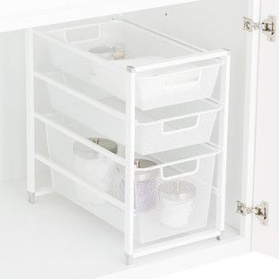 Mesh Drawers And Container Store On Pinterest