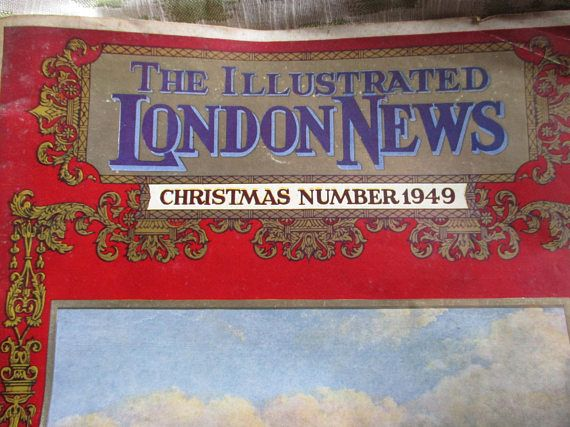 1949 Illustrated London News Christmas Number issued November