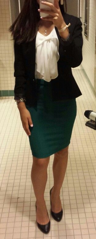 Office Outfit of the day. Business causal: