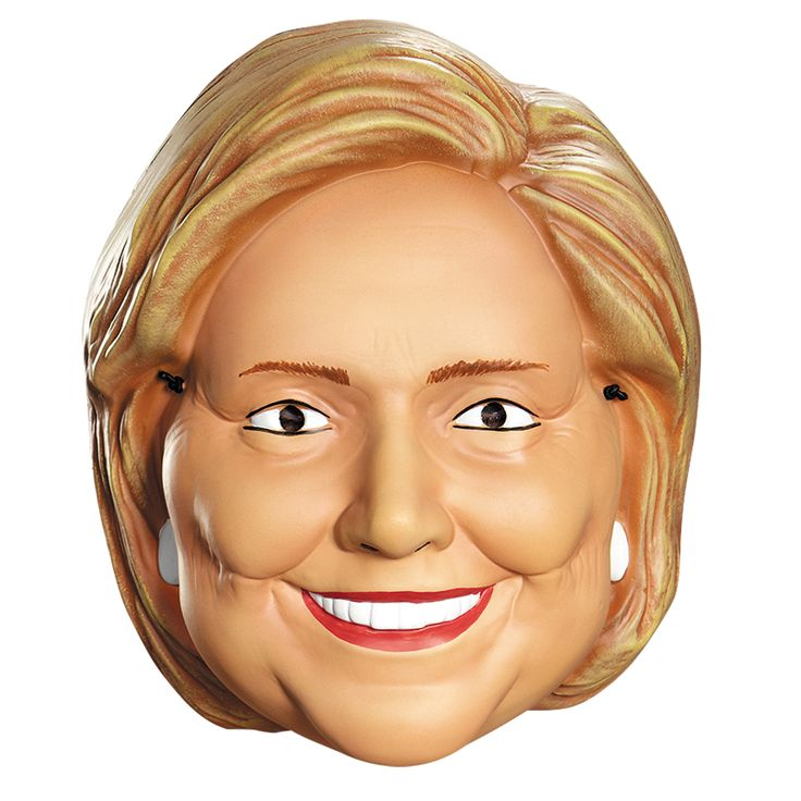 Hillary Clinton 1/2 Mask Costume Accessory
