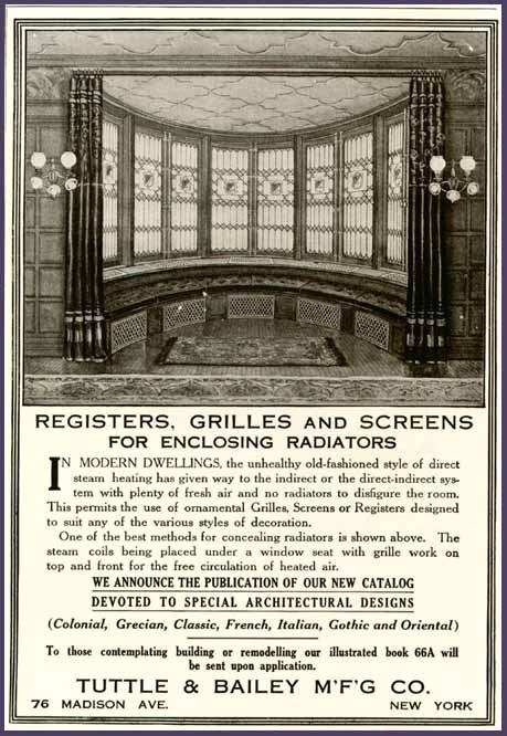 Tuttle Bailey Grilles : Best images about early s advertisements on