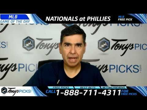 Washington Nationals vs. Philadelphia Phillies Free MLB Baseball Picks a...