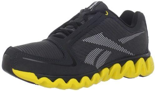 Reebok Ziglite Running Shoe (Little Kid/Big Kid),Gravel/Black/ Yellow/Silver,5 M US Big Kid at http://suliaszone.com/reebok-ziglite-running-shoe-little-kidbig-kidgravelblack-yellowsilver5-m-us-big-kid/