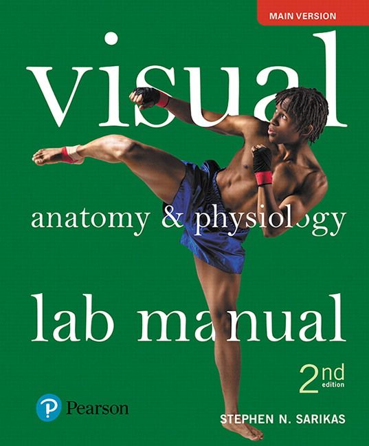 Visual Anatomy And Physiology Lab Manual Main Version 2nd