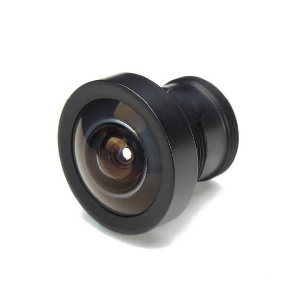 """MTV Mount 2.1mm 150 Degree Wide Angle Board Lens    Features:  Angle of View (AOV): 150  Focal Length: 2.1mm  Iris Type: Fixed  Lens Type: Fixed Focal  Aperture: F2.0  Lens Mount: M12x0.5 Board  Image Size: 1/3"""" or 1/4"""" format  Weight:9g    Packing..."""