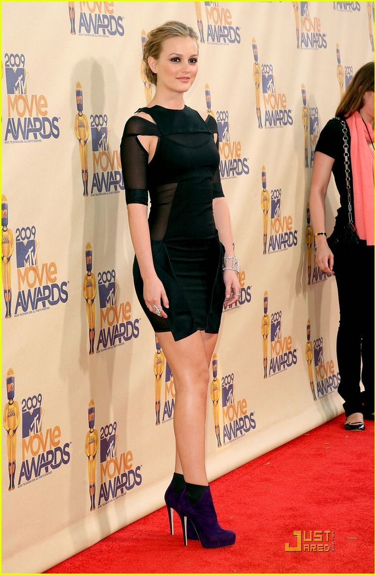 "Leighton Meester at the ""MTV Movie Awards"" 2009......"