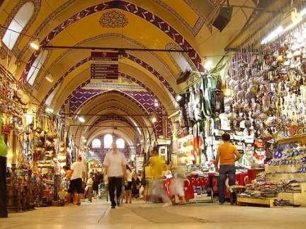 Spices market (Gran Bazaar), Istambul, Turkey