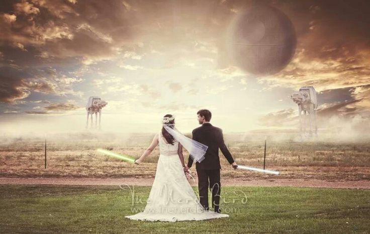 Star Wars Wedding.