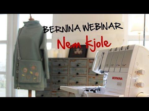 BERNINA Webinar: Lær at sy en nem kjole - YouTube