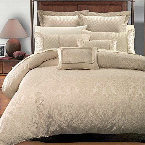 Deluxe   Rich contemporary Jacquard design in warm stylish tones Sara Duvet  Cover Set  Elegant and Contemporary bedding  7 piece Full   Queen Size  Duvet. 492 best Bedding Stuff images on Pinterest   Duvet cover sets