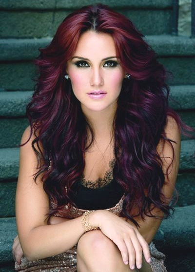 dulce maria .... And this is the color I want
