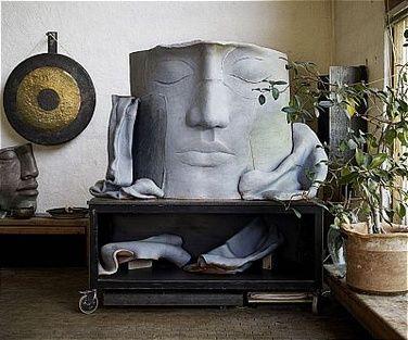 Hertha Hillfon, sculpture