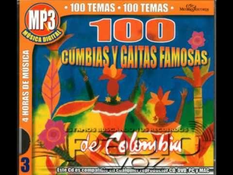 100 Cumbias Y Gaitas Famosas De Colombia