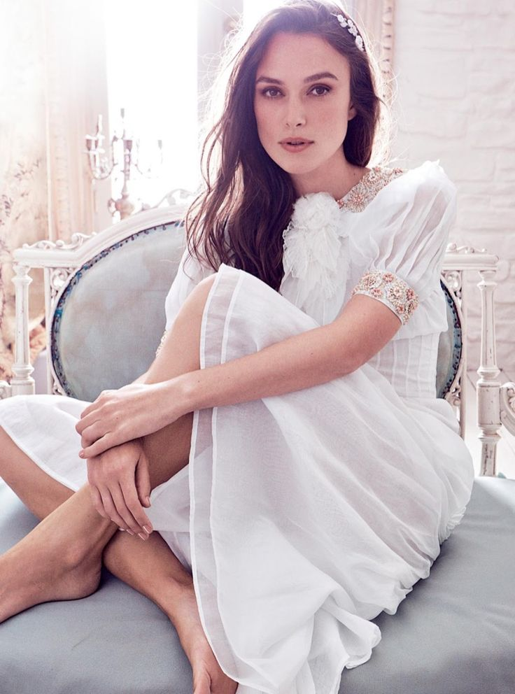 Keira Knightley Stuns in Chanel Fashions for Harper's Bazaar UK More