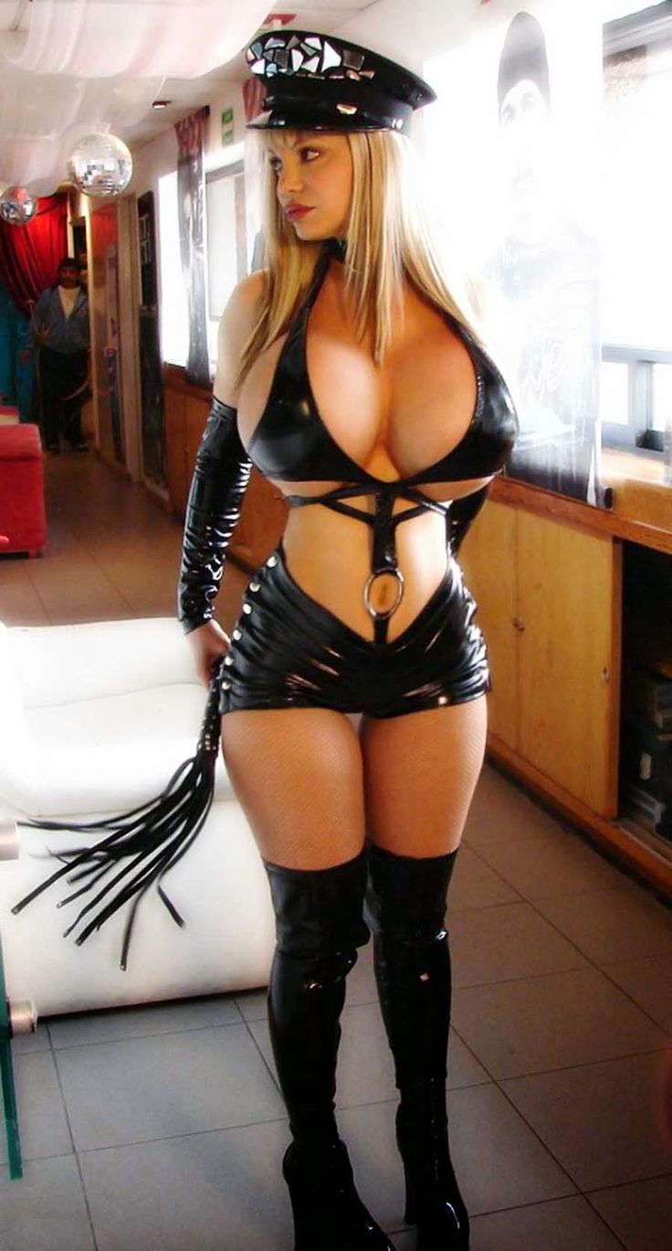 huge tits latex