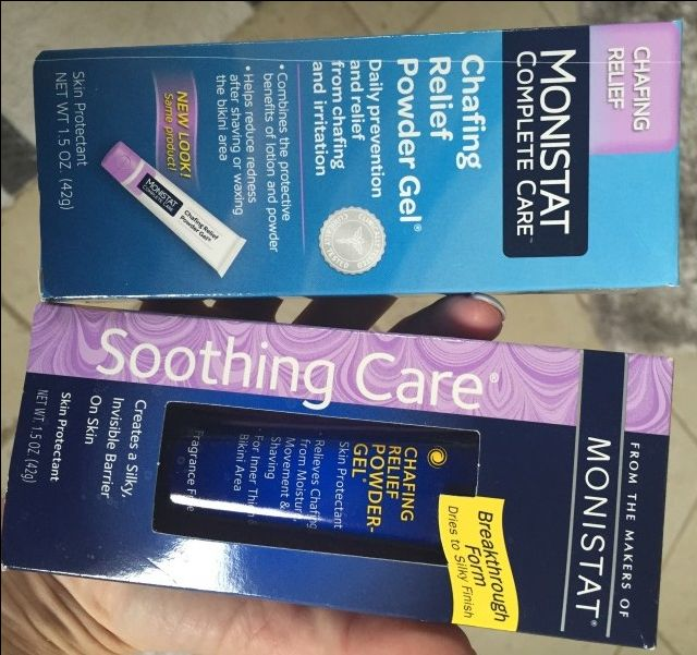 The best primer you can find, and in the most unlikeliest of places - Monistat Chafing Relief Gel