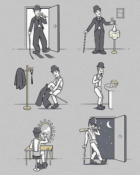 Chaplin e Alex