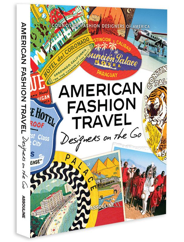 These globetrotting design stars share their favorite destinations, hotels, restaurants, stores, and sources of inspiration in this new title from Assouline's bestselling CFDA American Fashion series. http://www.zocko.com/z/JH9sx