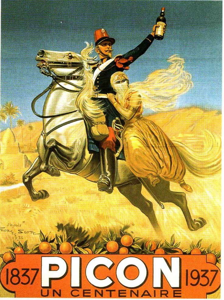 Picon à cheval...