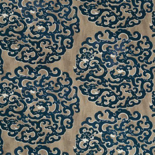 Robert Allen Juvarra Batik Blue Fabric