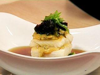 Merluza negra en croute de miso