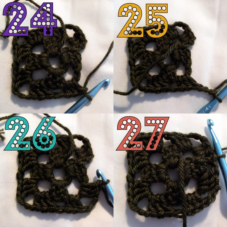 Granny Square Crochet Tutorial