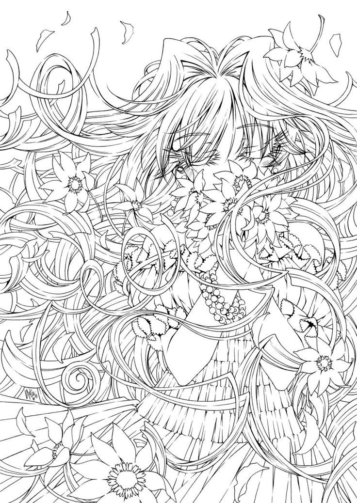 Sweetness in the air by - Coloriage art ...