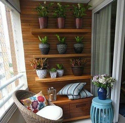 Casa Studio: Por uma varandinha mais verde!