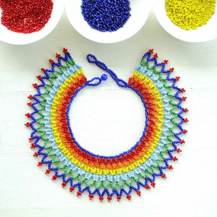 """Endless rainbow"" our most colorful necklace thus far. And only $29."