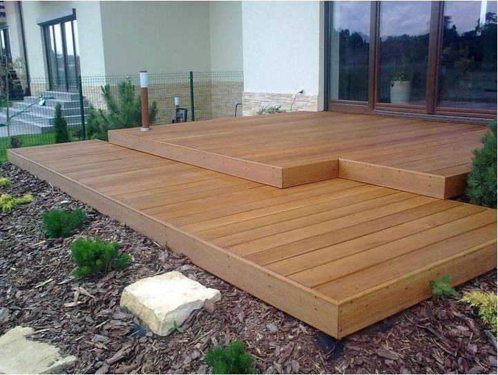 17 best images about tarasy on pinterest raised garden for Flat pack garden decking