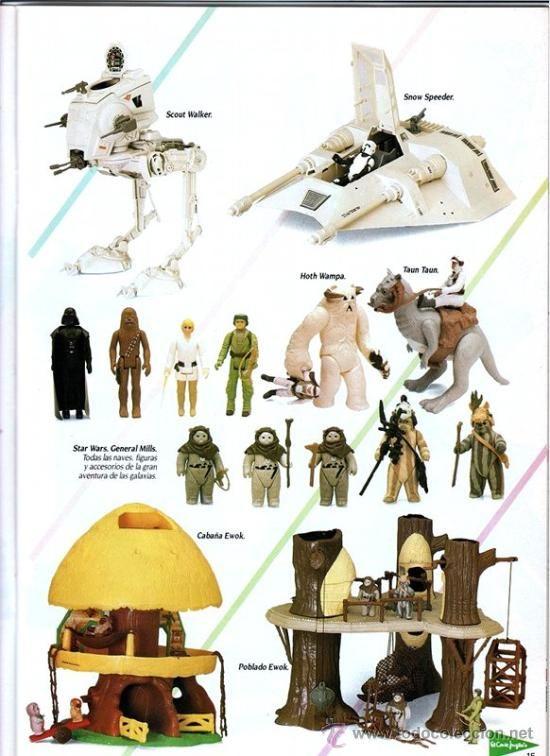 catlogo juguetes de navidad el corte ingls star wars