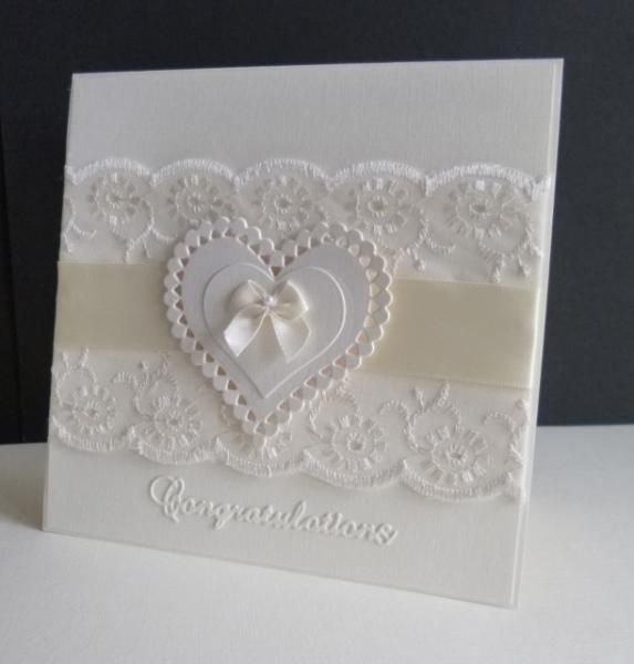 QFTD252 ~ Wedding Lace by sistersandie - Cards and Paper Crafts at Splitcoaststampers