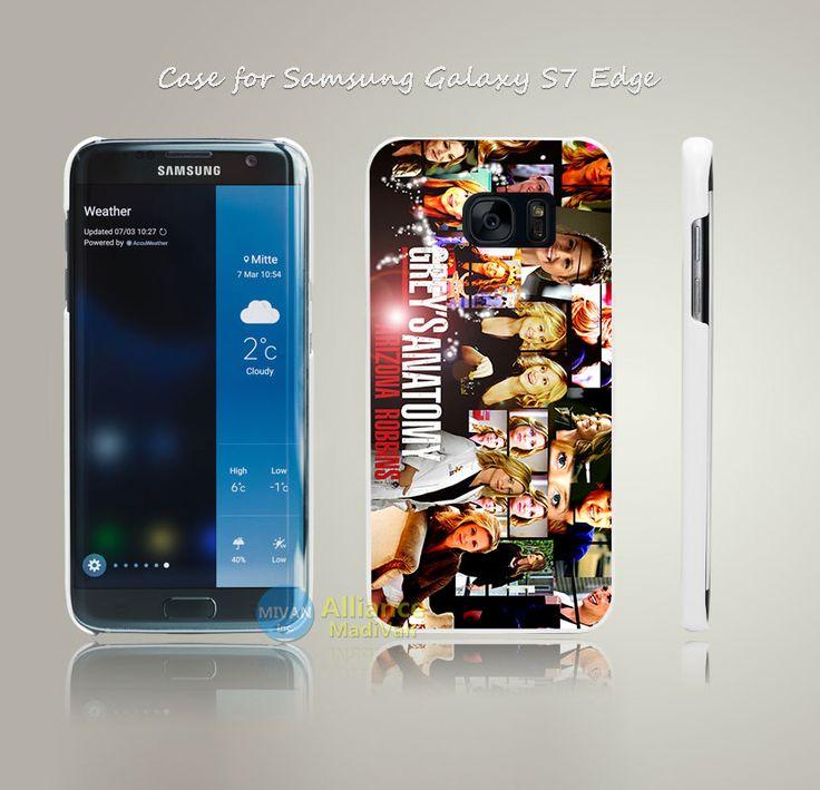 Аризона роббинс серые анатомии печать трудно белый чехол для Samsung Galaxy S4 S5 S6 S7 края плюс +