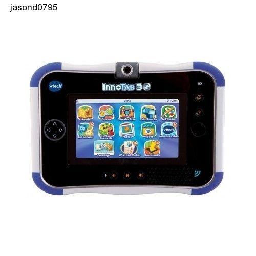 Kids Tablet Learn Play Teach Toy VTech InnoTab 3S Blue Battery Pack Fun Games