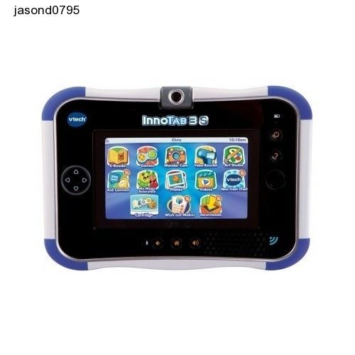 Kids Tablet Learn Play Teach Toy VTech InnoTab 3S Blue Battery Pack Fun Games